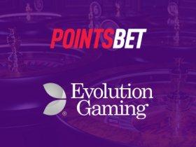 evolution-gaming-expands-us-presence-via-pointsbet-partnership