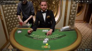 salon prive blackjack en vivo