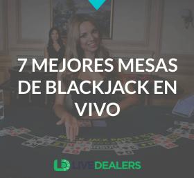 7 mejores mesas de blackjack en vivo para jugadores espanolas