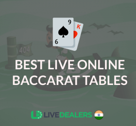 best live baccarat tables for players in India