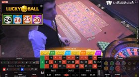 live lucky ball roulette authentic gaming