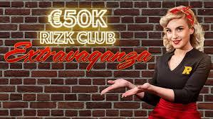 Rizk Club Extravaganza Offers €50K
