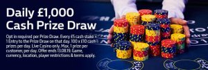 Bag a €100 Bonus on William Hill