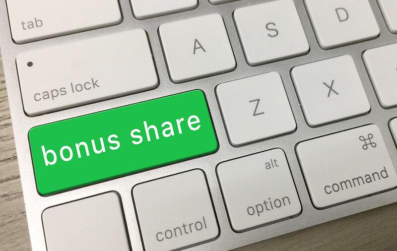 Bonus Share Key