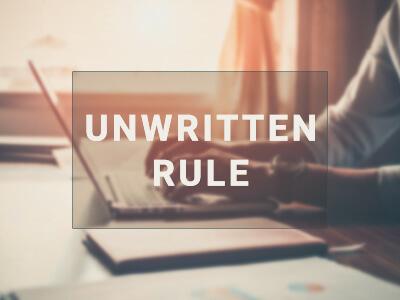 the_unwritten_rule